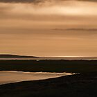 Berneray: Sunset View over Boreray by Kasia-D