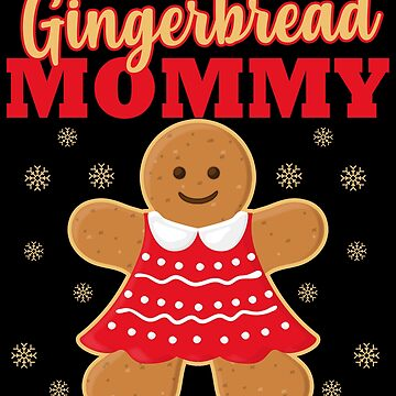 Matching Family Christmas Gingerbread Mom Sleep Top by kh123856