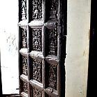 Church Doorway in Teguise, Lanzarote by Margaret Brown