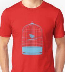 bird in cage Unisex T-Shirt