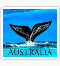 Australia whale Sticker
