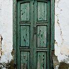 Old house doorway, Teguise, Lanzarote by Margaret Brown