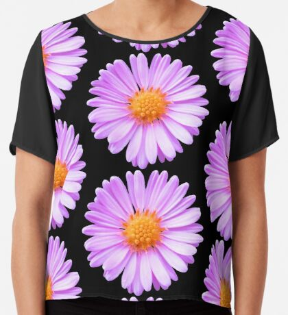 wunderschöne, pinke Blume, Blüte, pink, Sommer Chiffontop