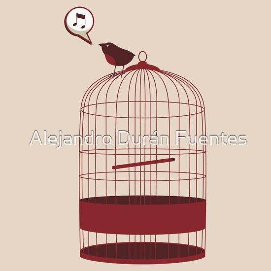 TShirtGifter presents: singing bird