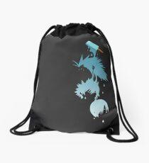 Sea Salt Trio Drawstring Bag