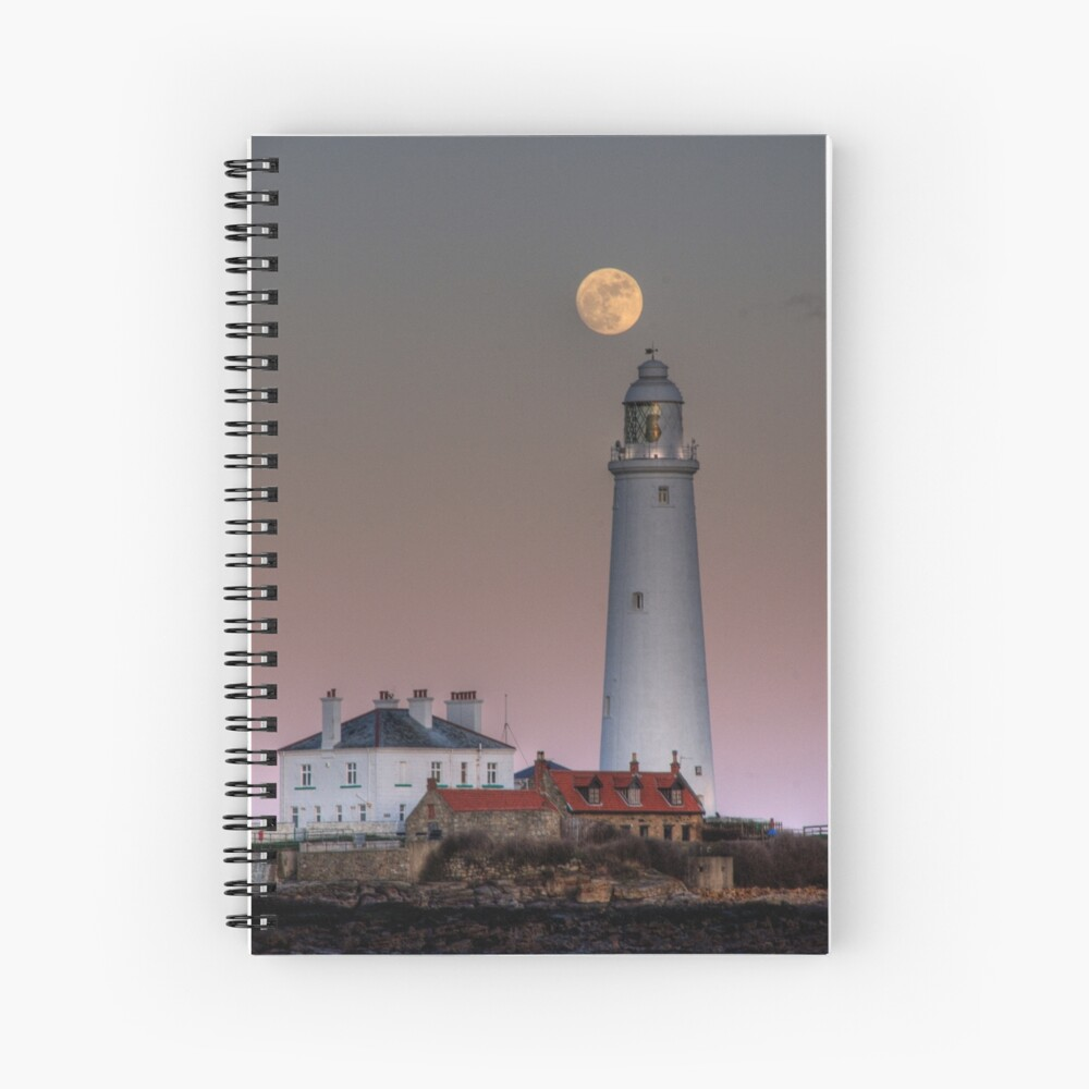 St Mary's moon Spiral Notebook