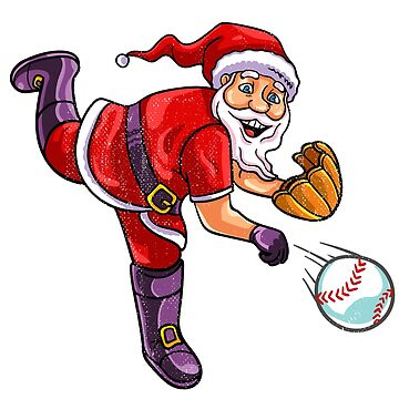 Santa baseball by 8fiveone4