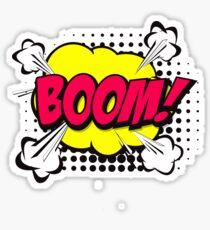 Boom comic Sticker