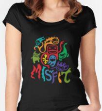 misfits - dark Women's Fitted Scoop T-Shirt