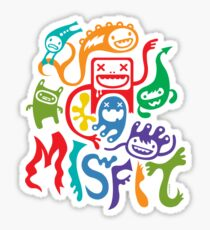 misfits - dark Sticker