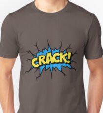Comic Crack Unisex T-Shirt