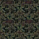 inky shabbat pattern by hdettman