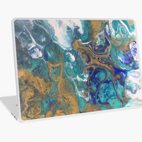 Acrylic Pour Art Laptop Skin