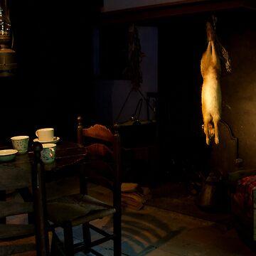 old dutch interior by stoekenbroek
