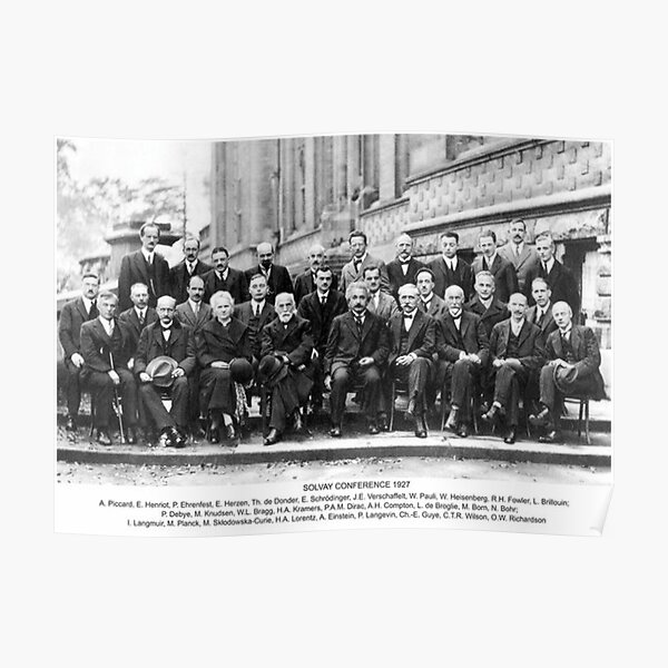 Solvay-Konferenz Poster