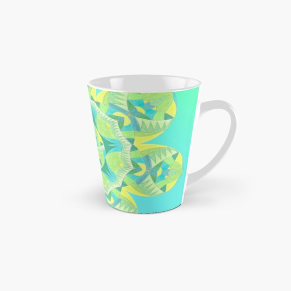 Grasshopper Katydid Leaves and Fauna Fall Into Winter Collection by Green Bee Mee Tall Mug