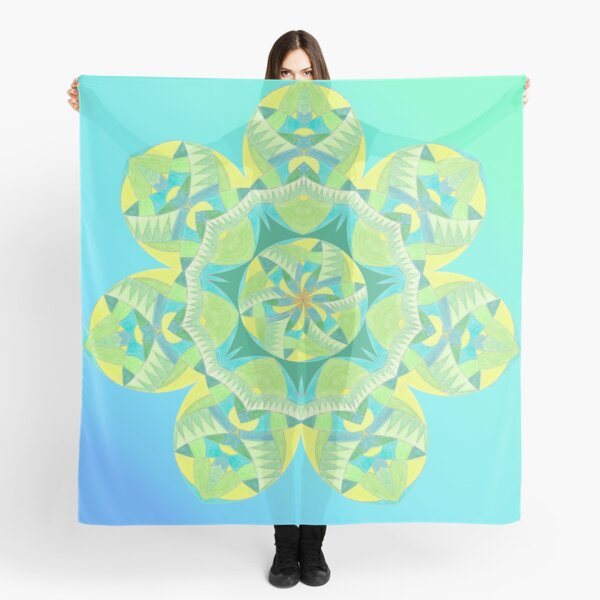Grasshopper Katydid Leaves and Fauna Fall Into Winter Collection by Green Bee Mee Scarf