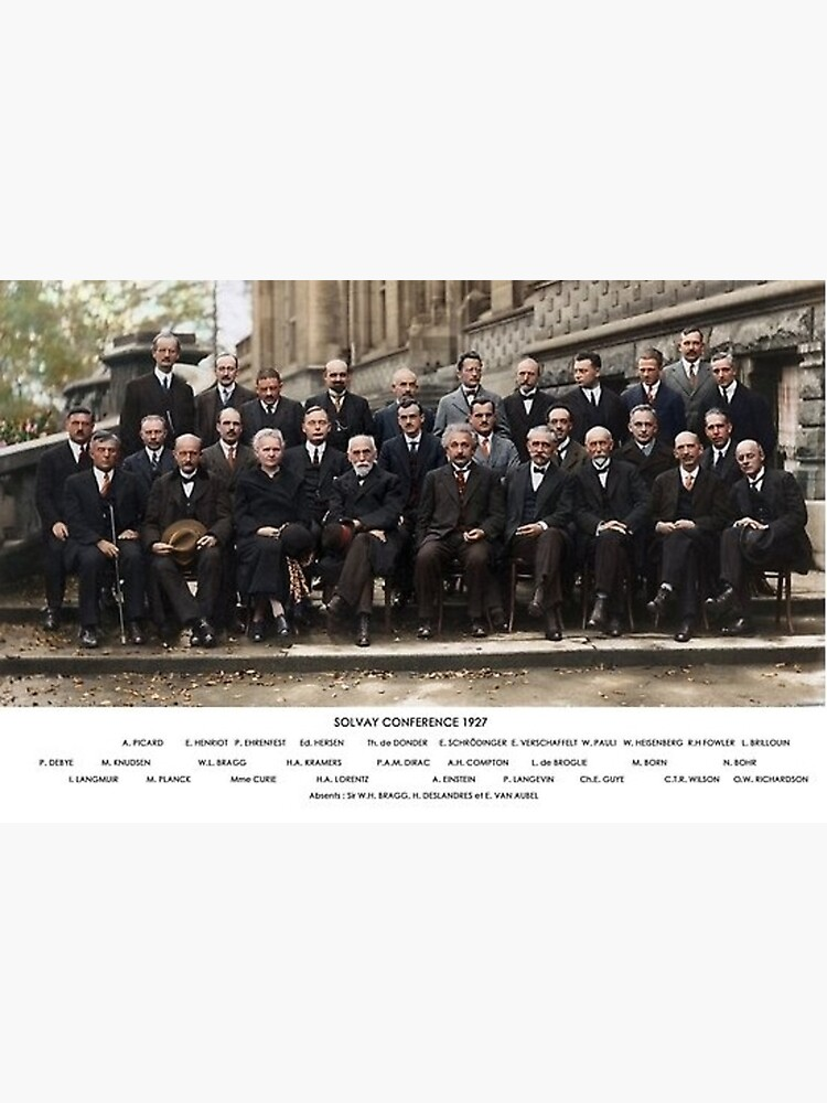 Solvay Conference  by historicalstuff