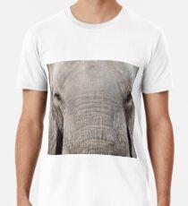 Closeup of African elephant Men's Premium T-Shirt