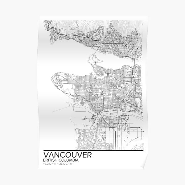 Vancouver Posters Redbubble