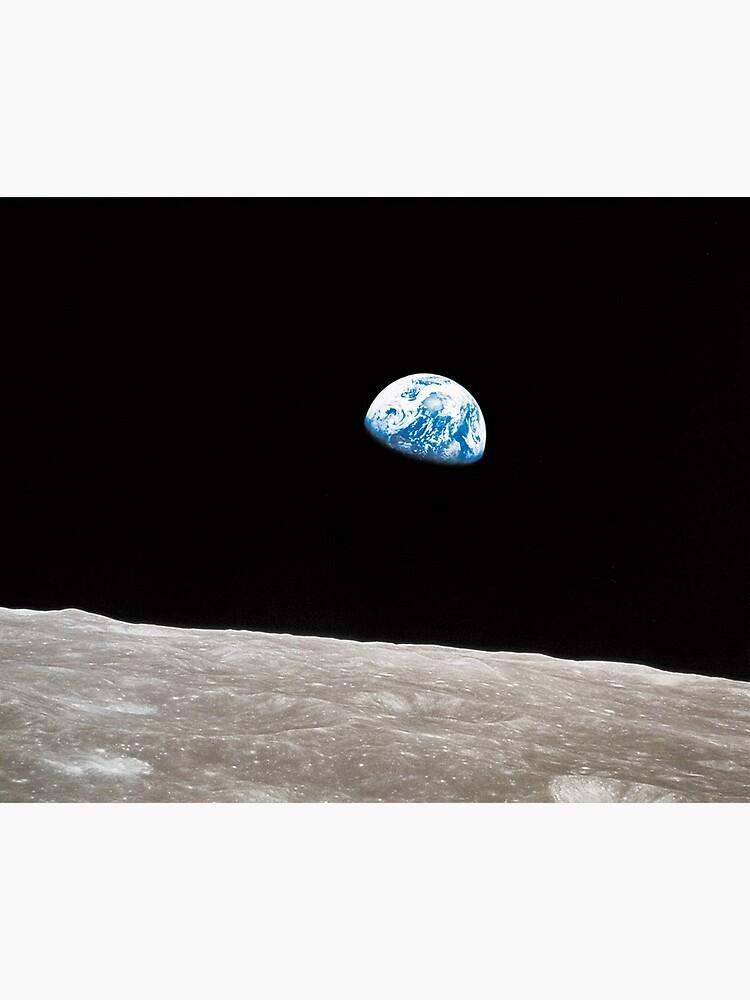 Earthrise Apollo 8 by historicalstuff