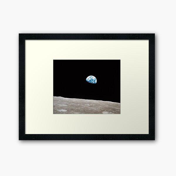 Earthrise Apollo 8 Framed Art Print