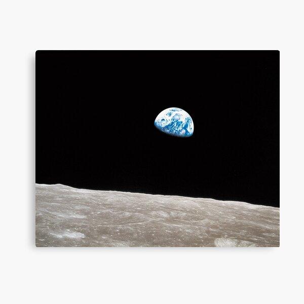 Earthrise Apollo 8 Canvas Print