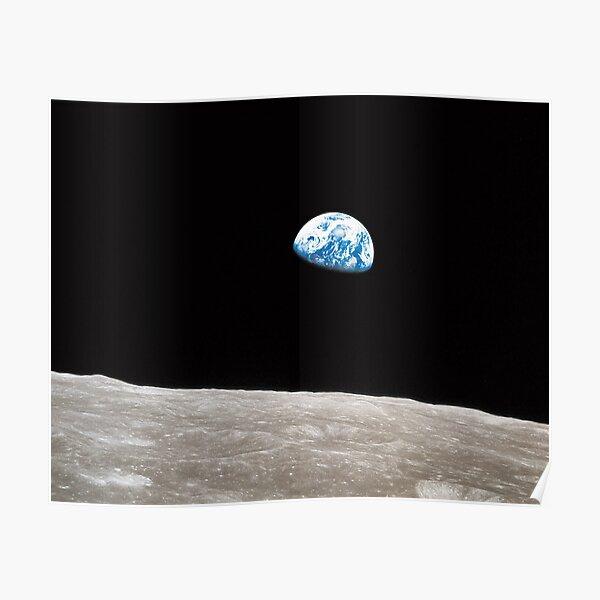 Earthrise Apollo 8 Poster