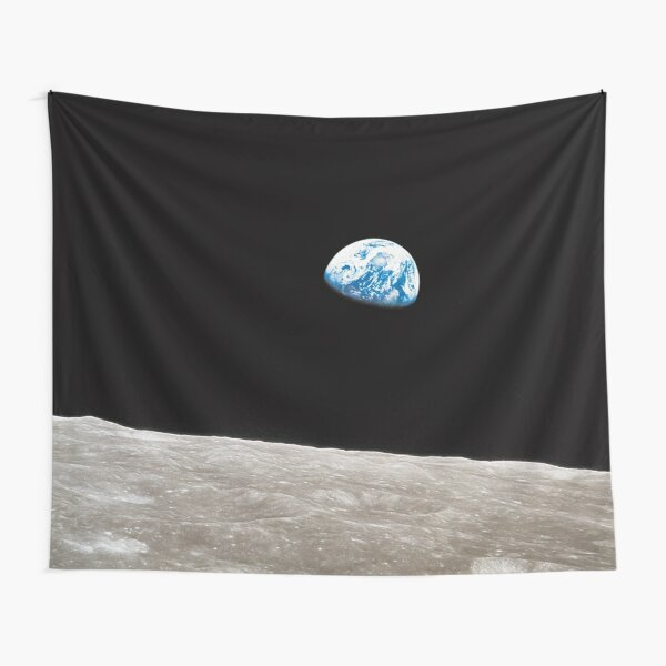 Earthrise Apollo 8 Tapestry