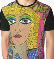 Kaleidoscope Eyes Graphic T-Shirt