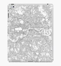 London map poster print wall art, United Kingdom gift printable, Home and Nursery, Modern map decor for office, Map Art, Map Gifts iPad Case/Skin