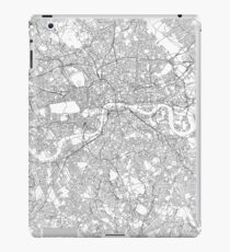 London map poster print wall art, United Kingdom gift, Home and Nursery, Modern map decor for office, Map Art, Map Gifts iPad Case/Skin
