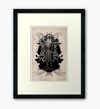 Mr Squid Framed Print