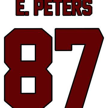 Evan Peters - Maroon by amandamedeiros