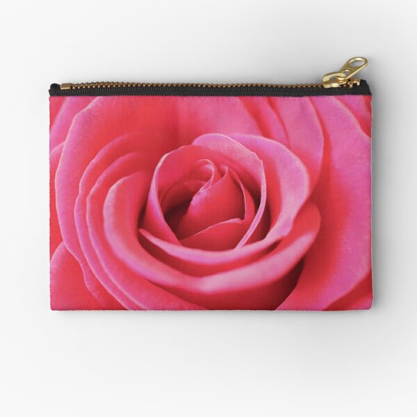 Red Whispers Zipper Pouch