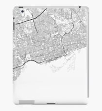 Toronto map poster print wall art, Ontario gift, Home and Nursery, Modern map decor for office, Map Art, Map Gifts iPad Case/Skin