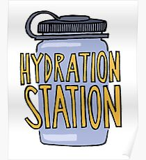 Hydration Station Poster
