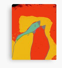 Birdies q11b22 Canvas Print