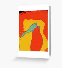 Birdies q11b22 Greeting Card