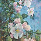 Apple blossom by Vira Kalinovska