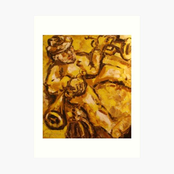 Trumpet Man (The Original) Art Print