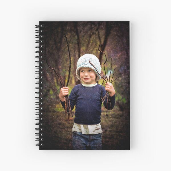 ...the woodcutters' son... Spiral Notebook