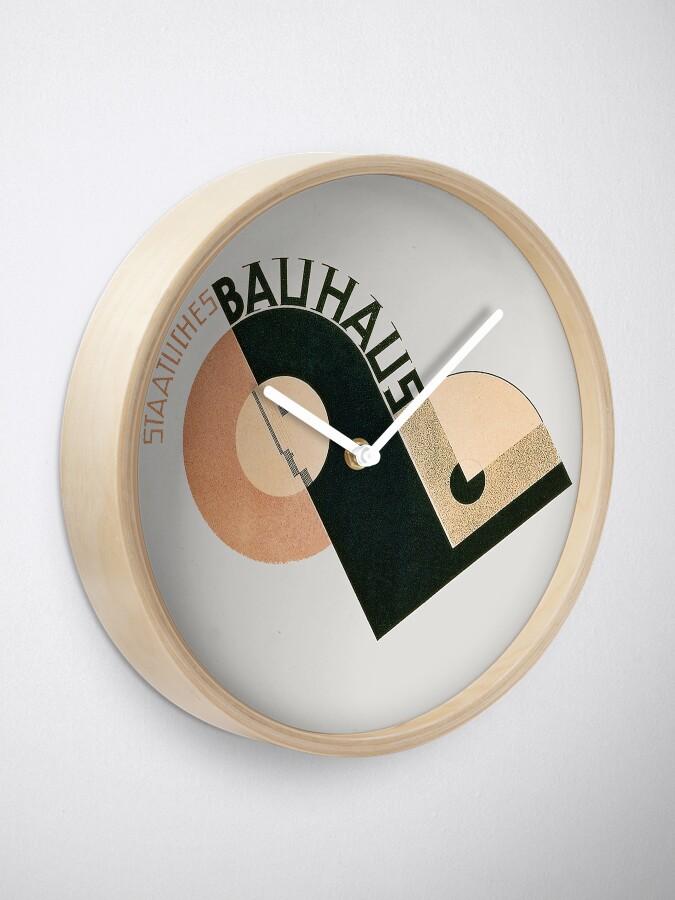 Alternate view of Bauhaus Logo 1919 Clock