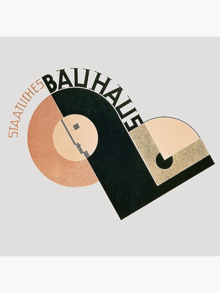 Bauhaus Logo 1919 by edsimoneit