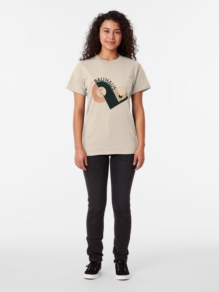 Alternate view of Bauhaus Logo 1919 Classic T-Shirt