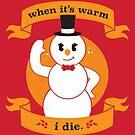 A Frosty Seasons Greeting by strangethingsA