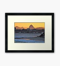 Bring it On - Sunset Caloundra Framed Print