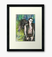 Blackthorn and his Unicorn Framed Print
