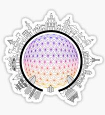 Epcot Around the World Sticker