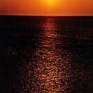sunset in my eyes by giuseppe maffioli